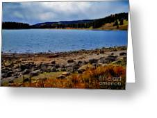 Grand Mesa Lake Greeting Card