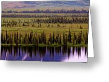 Grand Mountain Reflections Greeting Card