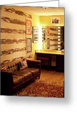 Grand Ole Opry House Backstage Dressing Room #5 In Nashville, Tennessee. Greeting Card