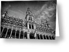 Grand Place Architecture Brussels  Greeting Card
