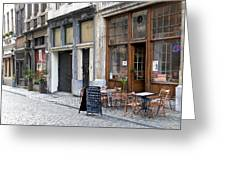 Grand Place Shops Greeting Card