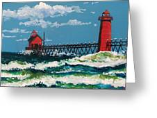Grand Point Lighthouse Greeting Card