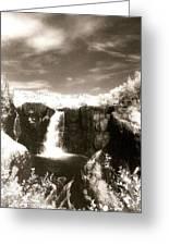 Grand Portage Falls Greeting Card