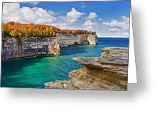 Grand Portal Point October Greeting Card