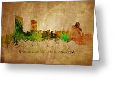 Grand Rapids  Michigan Greeting Card
