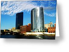 Grand Rapids Michigan Is Grand Greeting Card