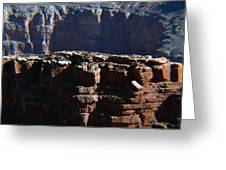 Grand Rock Greeting Card