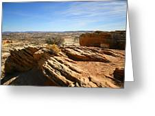 Grand Staircase Escalante National Monument Greeting Card