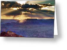 Grand Sunlight Greeting Card
