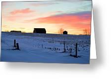 Grand Sunrise Greeting Card
