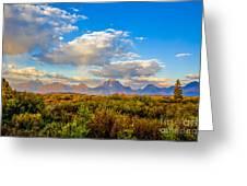 Grand Teton Fall Greeting Card