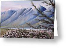 Grand Teton Mountains Greeting Card