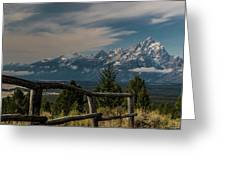 Grand Teton Signal Mountain Greeting Card