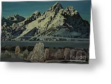Grand Teton Winter Greeting Card
