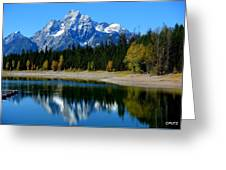 Grand Tetons 2 Greeting Card by Carrie Putz