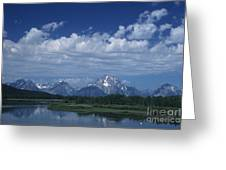 Grand Tetons In Spring Greeting Card