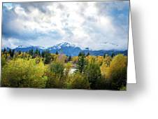 Grand Tetons In The Fall Greeting Card