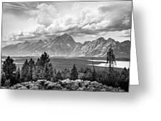 Grand Tetons Greeting Card