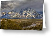 Grand Tetons Snake River Greeting Card