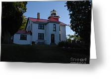 Grand Traverse Light House Greeting Card
