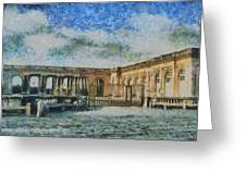 Grand Trianon Greeting Card by Aaron Stokes