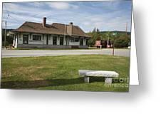 Grand Trunk Railroad - Gorham New Hampshire Greeting Card
