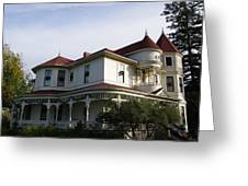 Grand Victorian Mansion  Greeting Card