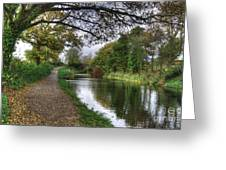 Grand Western Canal At Crown Hill Greeting Card