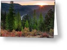 Grande Ronde Sunrise Greeting Card