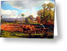 Grandfather Farm Greeting Card