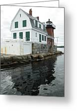 Grandfathers Lighthouse Greeting Card
