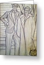 Grandma And Grandpa Albee Greeting Card