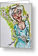 Grandma Hippie Greeting Card