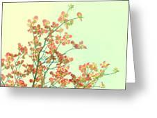 Grandma's Pink Dogwood Greeting Card