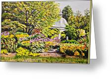 Grandmother's Garden Greeting Card