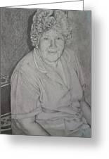 Grandmother's Portrait Greeting Card