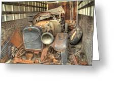 Grandpa's 1922 Studebaker Roadster Greeting Card