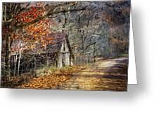Grandpa's Old Barn Greeting Card