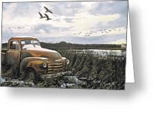 Grandpa's Old Truck Greeting Card