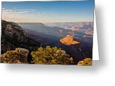 Grandview Sunset - Grand Canyon National Park - Arizona Greeting Card