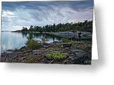 Granite Islands Greeting Card