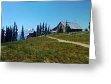 Granite Park Chalet Greeting Card