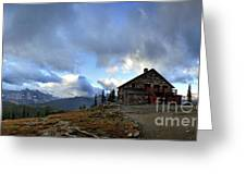 Granite Park Chalet - Glacier National Park Greeting Card