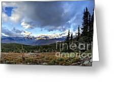Granite Park - Glacier National Park Greeting Card