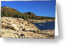 Granite Rocks At The Coast Greeting Card