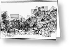 Granite Steps Eagle Lake Sequoia National Park California 2012 Greeting Card