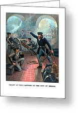 Grant At The Capture Of The City Of Mexico Greeting Card