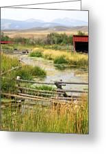 Grants Khors Ranch Vertical Greeting Card