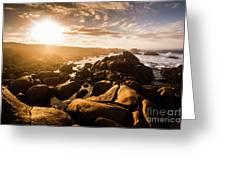 Granville Harbour Tasmania Sunrise Greeting Card