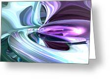 Grapes And Cream Abstract Greeting Card
